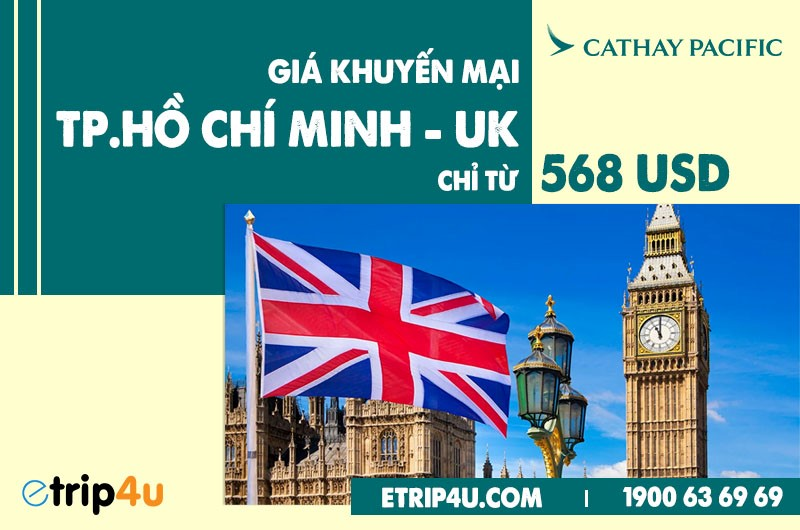 Cập nhật lịch bay Cathay Pacific