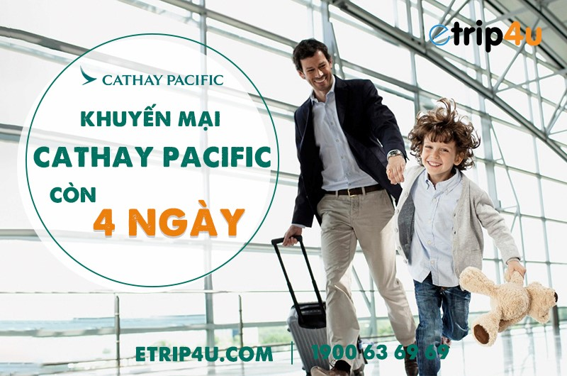 Khuyến mại Cathay Pacific