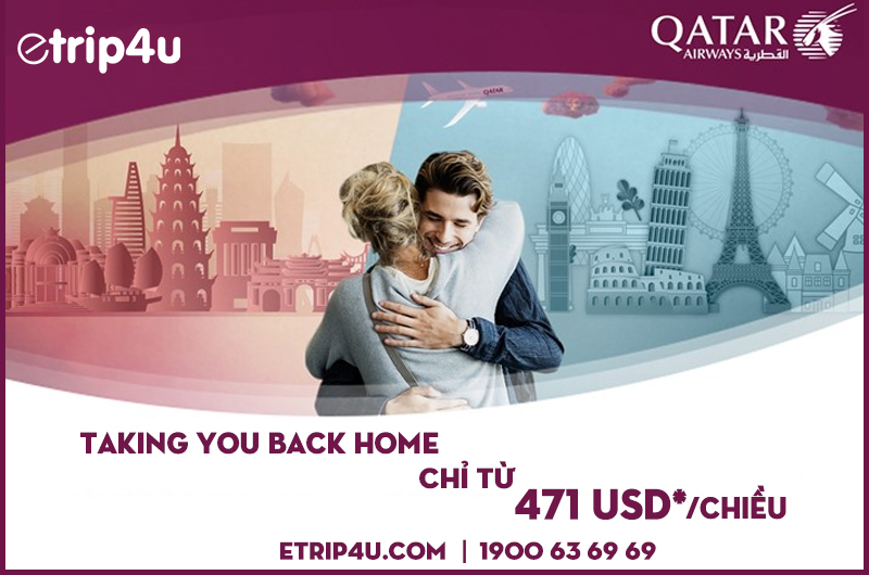 Qatar Airways taking you back home